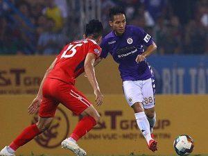 Hà Nội FC nhấn chìm đội bóng phố núi ngay trên sân Hàng Đẫy