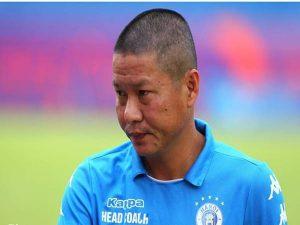 HLV Chu Đình Nghiêm hài lòng với kết quả của CLB Hà Nội