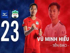HLV Park Hang-seo có thể sẽ gọi Vũ Minh hiếu lên tuyển