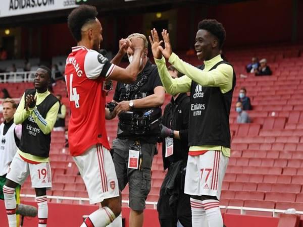 Arsenal nhận tin vui từ tương lai của tiền đạo Aubameyang