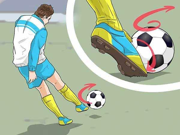 Hướng dẫn kỹ thuật sút bóng cơ bản cho người mới
