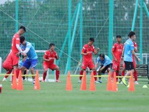 Cầu thủ U22 Việt Nam sẽ có thêm kinh nghiệm sau đợt tập trung