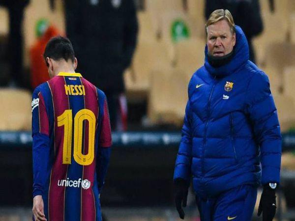Bóng đá QT tối 7/2: Ronald Koeman muốn Messi ở lại Barcelona