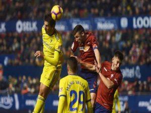Nhận định bóng đá Osasuna vs Cadiz (00h00 ngày 12/5)