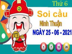 Soi cầu XSNT ngày 25/6/2021 đài Ninh Thuận thứ 6 hôm nay chính xác nhất