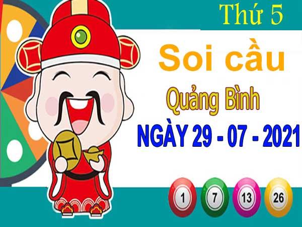 Soi cầu XSQB ngày 29/7/2021 – Soi cầu xổ số Quảng Bình thứ 5