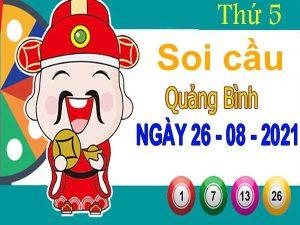 Soi cầu XSQB ngày 26/8/2021 – Soi cầu xổ số Quảng Bình thứ 5