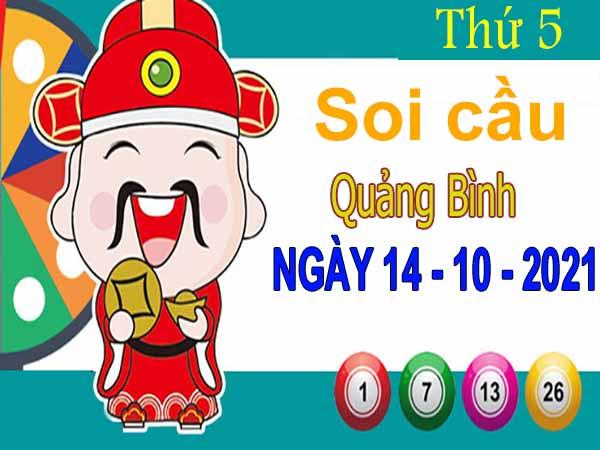 Soi cầu XSQB ngày 14/10/2021 – Soi cầu đài xổ số Quảng Bình thứ 5